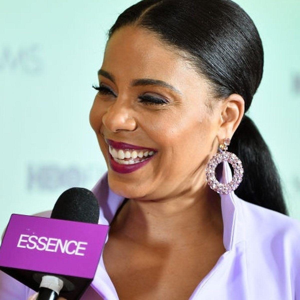 Twinning! Sanaa Lathan And Her Mom Look Exactly Alike In Recent Photo