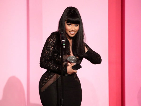 Nicki Minaj's Son Surprises Her By Saying 'Hi' For The First Time On Camera