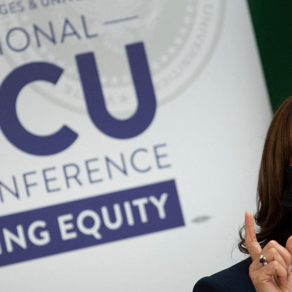 Vice President Kamala Harris Visits Hampton University in Virginia