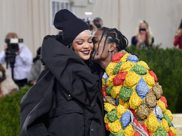 9 Sweet Photos Of Rihanna and A$AP Rocky Looking Madly In Love At The Met Gala