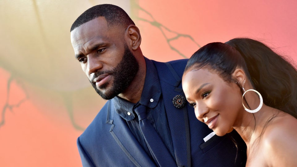 LeBron James Shares Wedding Photos For The First Time As He And Wife Savannah Celebrate Their Anniversary