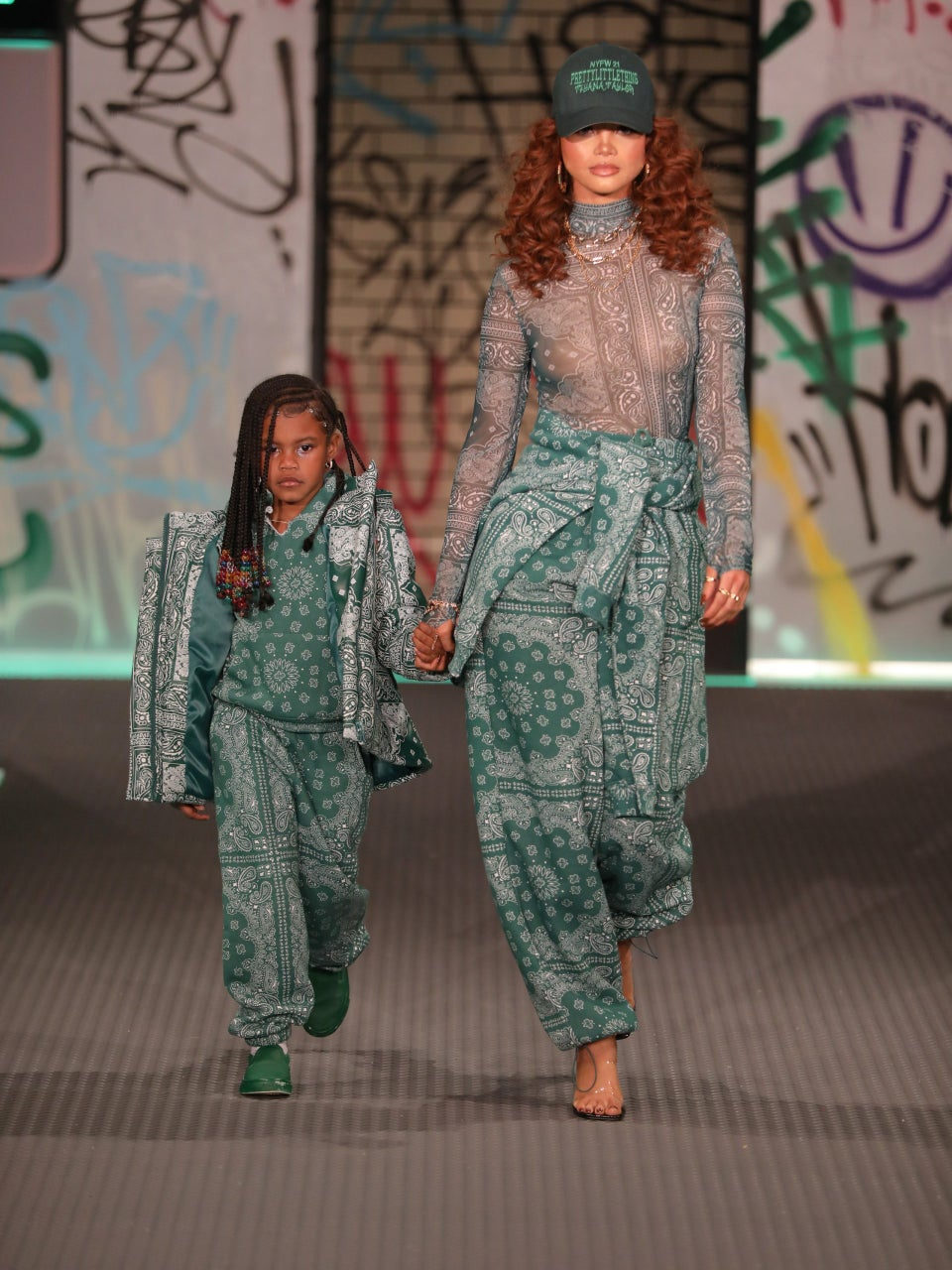 Teyana Taylor's Daughter Junie, 5, Made Her Runway Debut At Fashion Week And Stole The Show