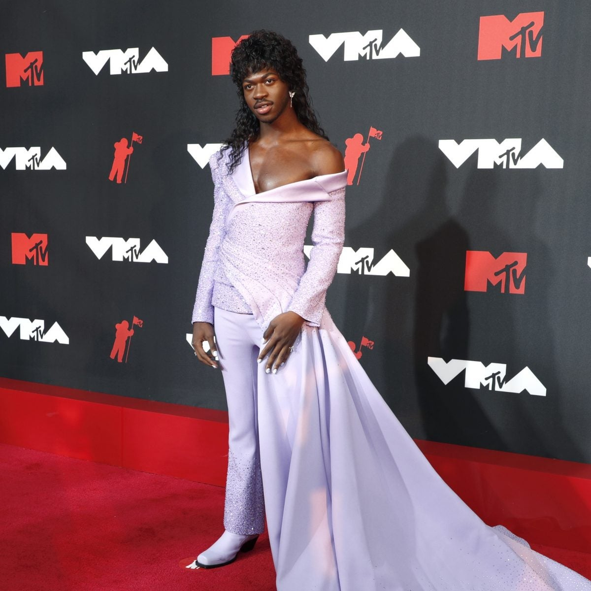 Lil Nas X Wore Versace For The 2021 MTV VMAs