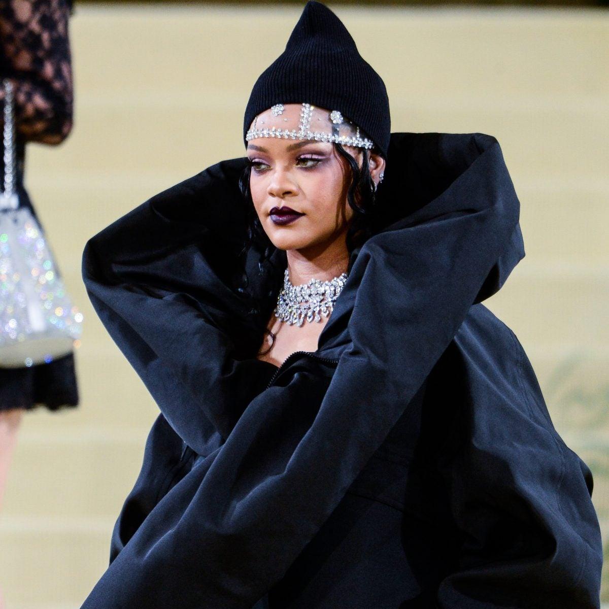 Exclusive: Rihanna Shares The Details Behind Her MET Gala Carpet Look