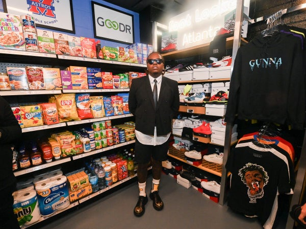 Rapper Gunna Partners With Goodr To Open Free Grocery Store In Atlanta Middle School