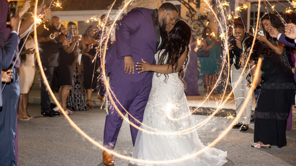 """Bridal Bliss: Spelman And Morehouse Grads Kelly And Brandon Returned To ATL To Say """"I Do"""""""