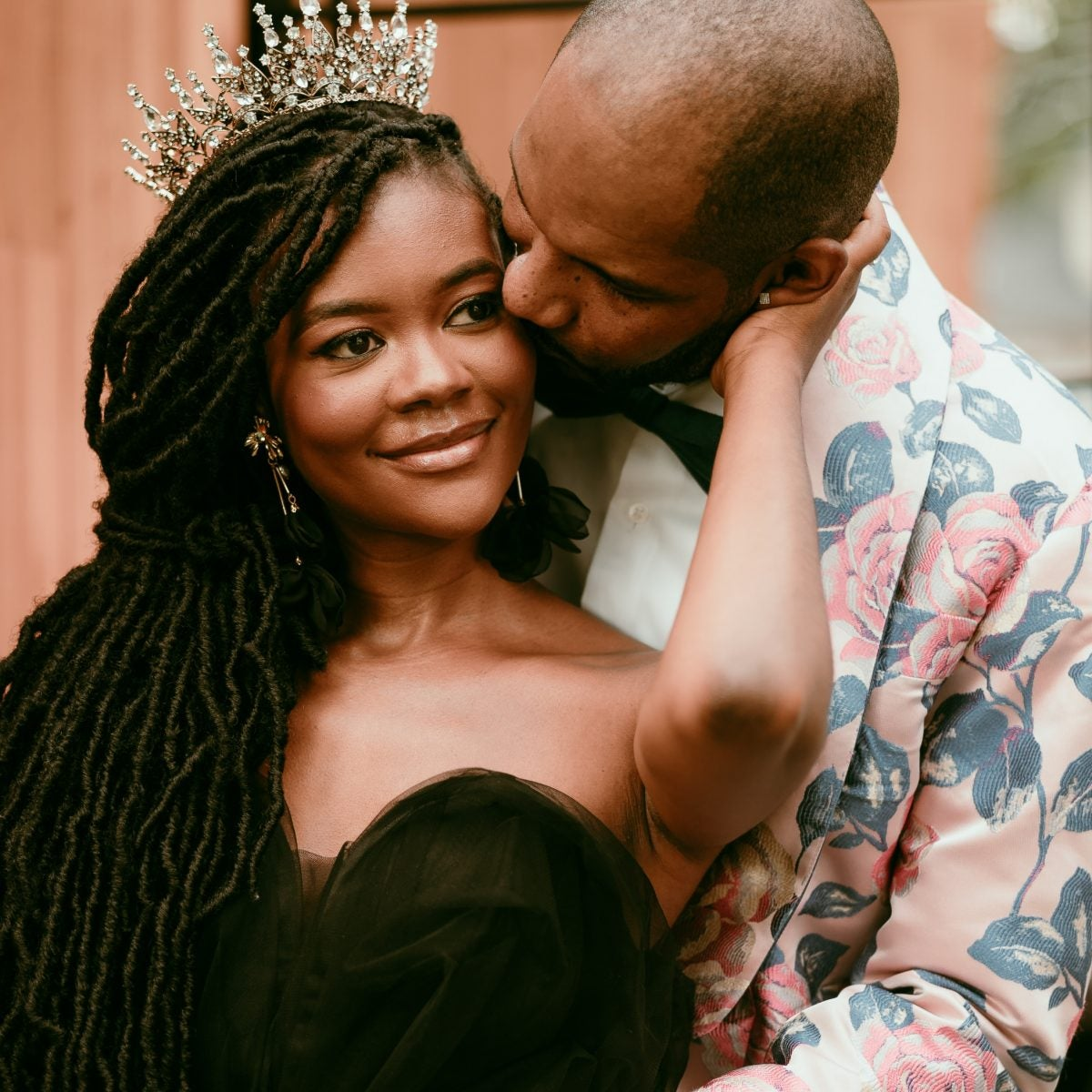 Bridal Bliss: 'Project Runway' Alum Laurie And Damon Had A Brilliant Backyard Wedding In Chi-Town