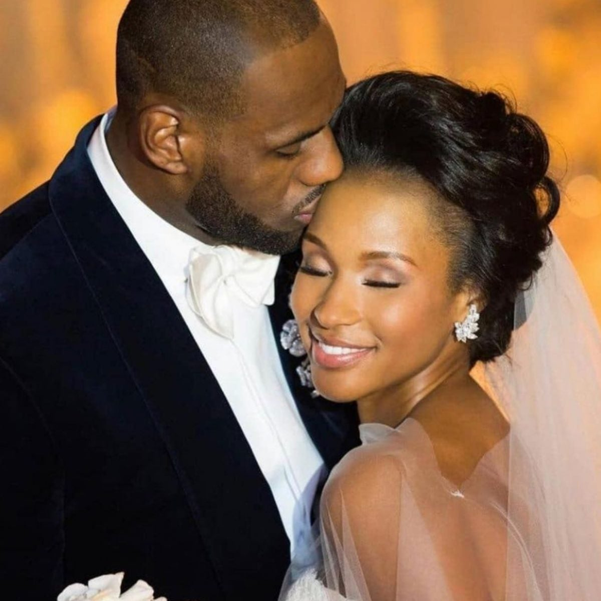 LeBron And Savannah James Celebrate Wedding Anniversary, Share Never-Before-Seen Photos From Their Big Day