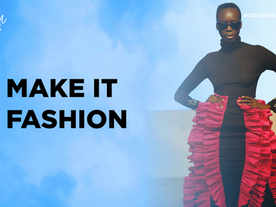 ESSENCE Fashion House Attendees 'Make It Fashion' In New Game