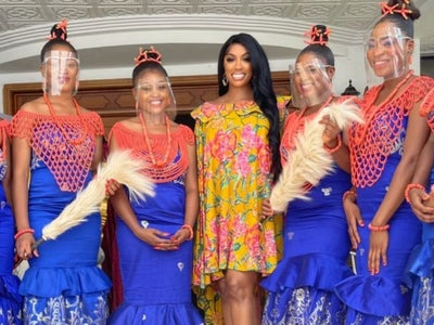 Porsha Williams And Her Fiancé Traveled to His Hometown In Nigeria And Received A Royal Welcome: 'What An Experience'