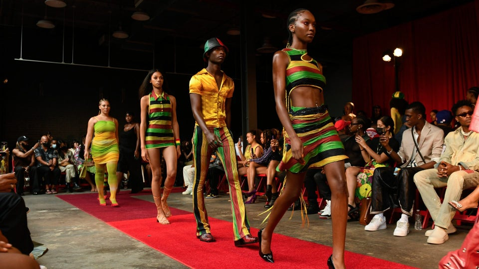 Theophilio Presents A Strong Bid For NYFW Show Of The Season With 'Air Jamaica'