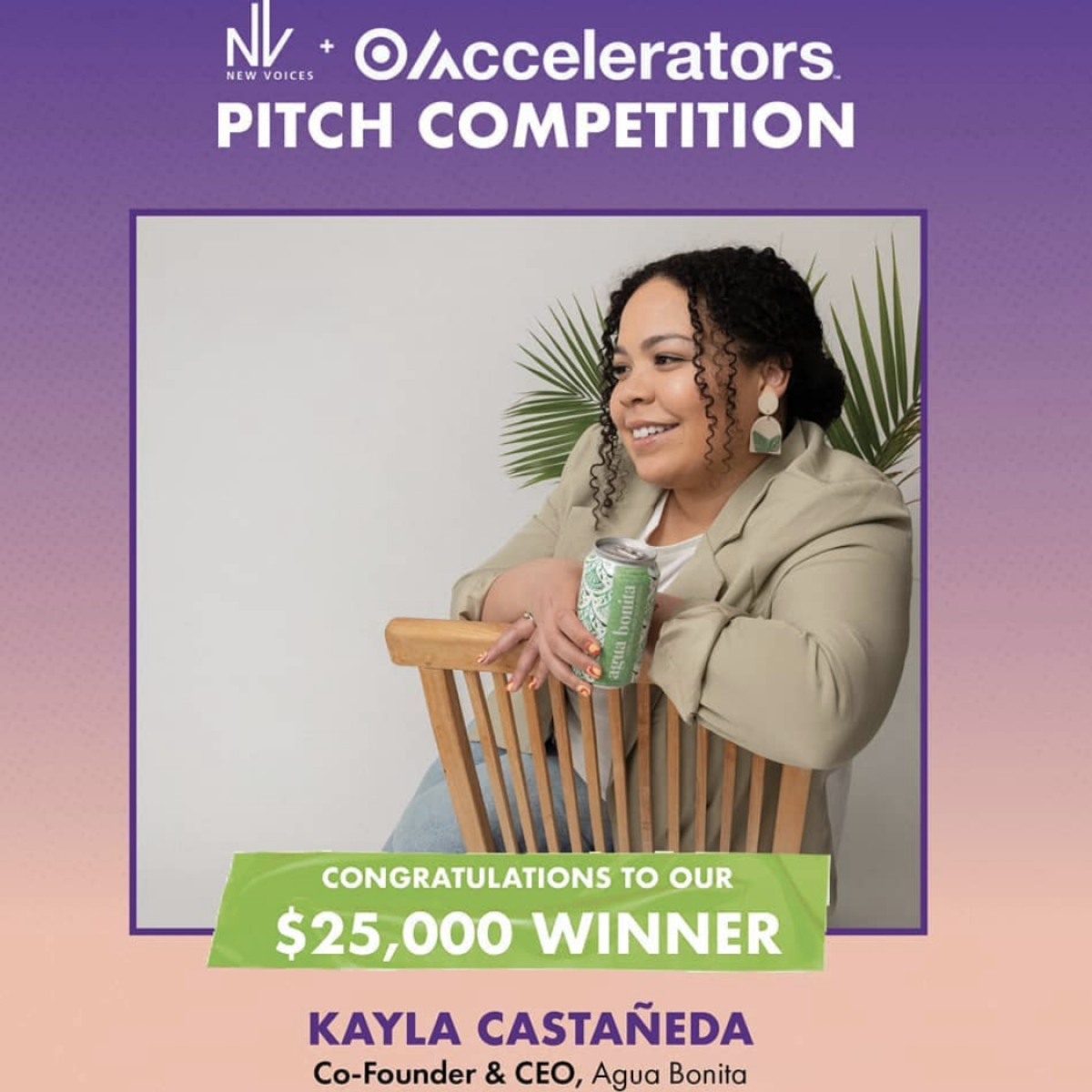 Entrepreneur Kayla Castaneda Wins $25,000 In New Voices + Target Accelerators Pitch Competition