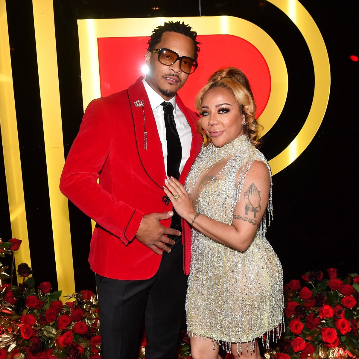 T.I. And Wife Tiny Harris Sexual Assault Charges Dropped in Los Angeles