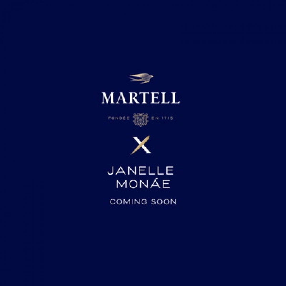 Martell Blue Swift Sizzle  Janelle Monàe