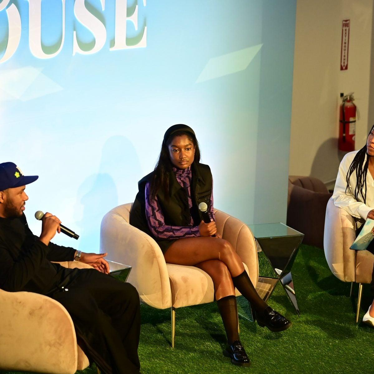 Telsha Anderson And Jason Rembert Define Black Luxury At Essence Fashion House