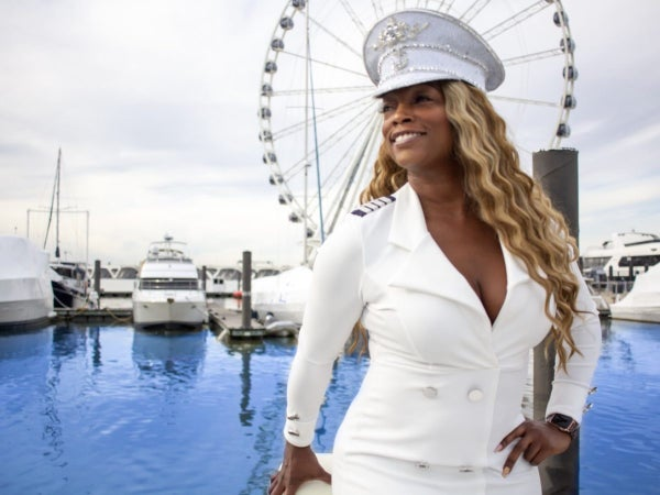 This Black Woman Master Captain Created A Paint, Sip and Sail Boating Experience