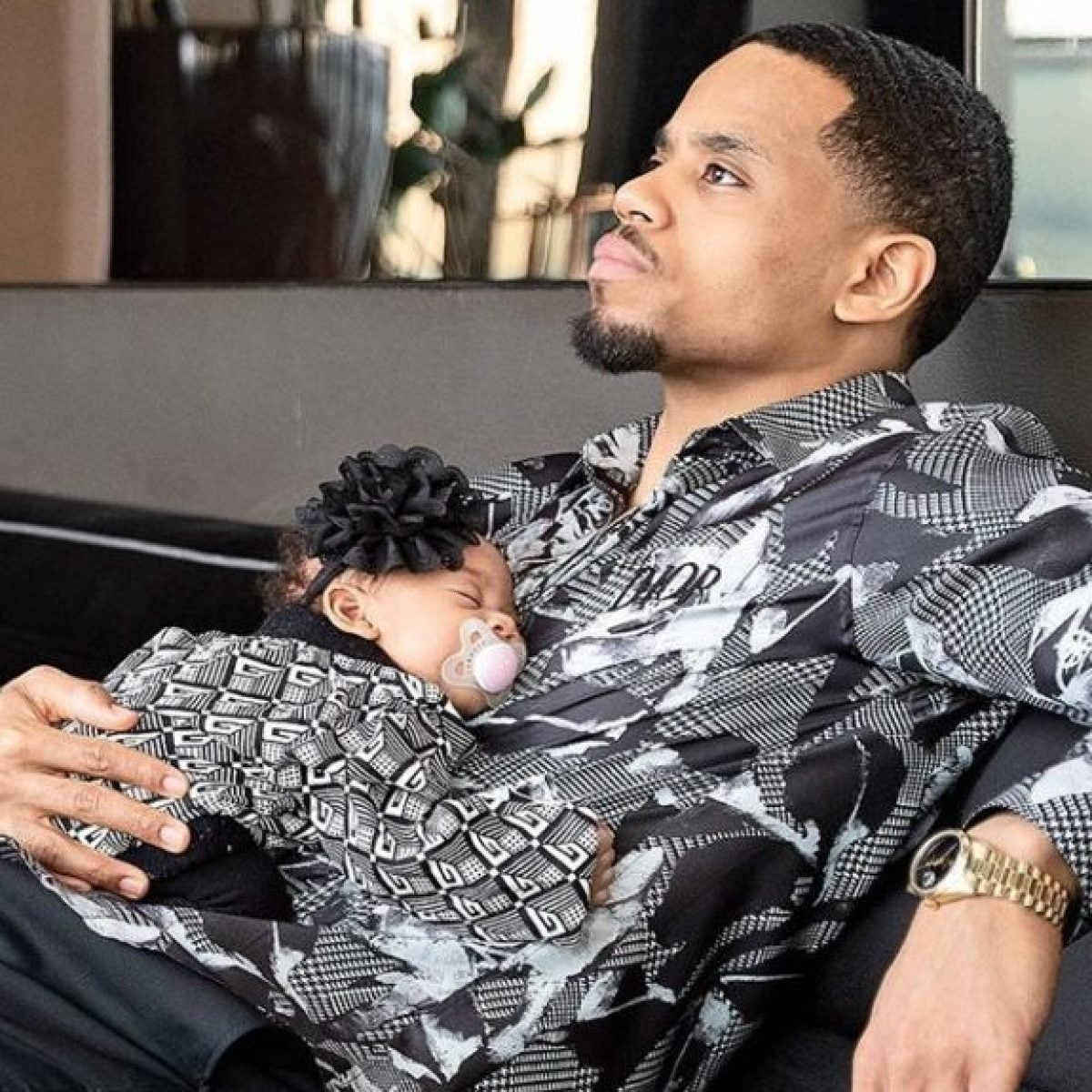 Mack Wilds Details The Lessons He Wants To Teach His Daughter Tristyn Naomi