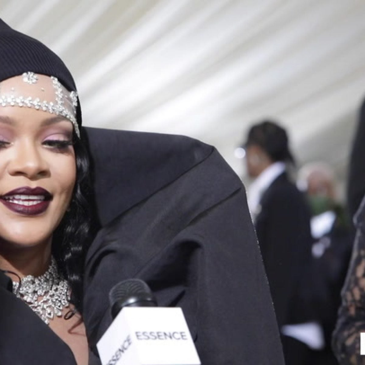 Rihanna Shares Details About Her MET Gala Look