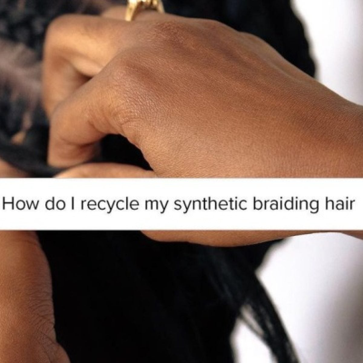 This Synthetic Braiding Hair Is Changing The Landscape For Eco-Friendly Protective Styles