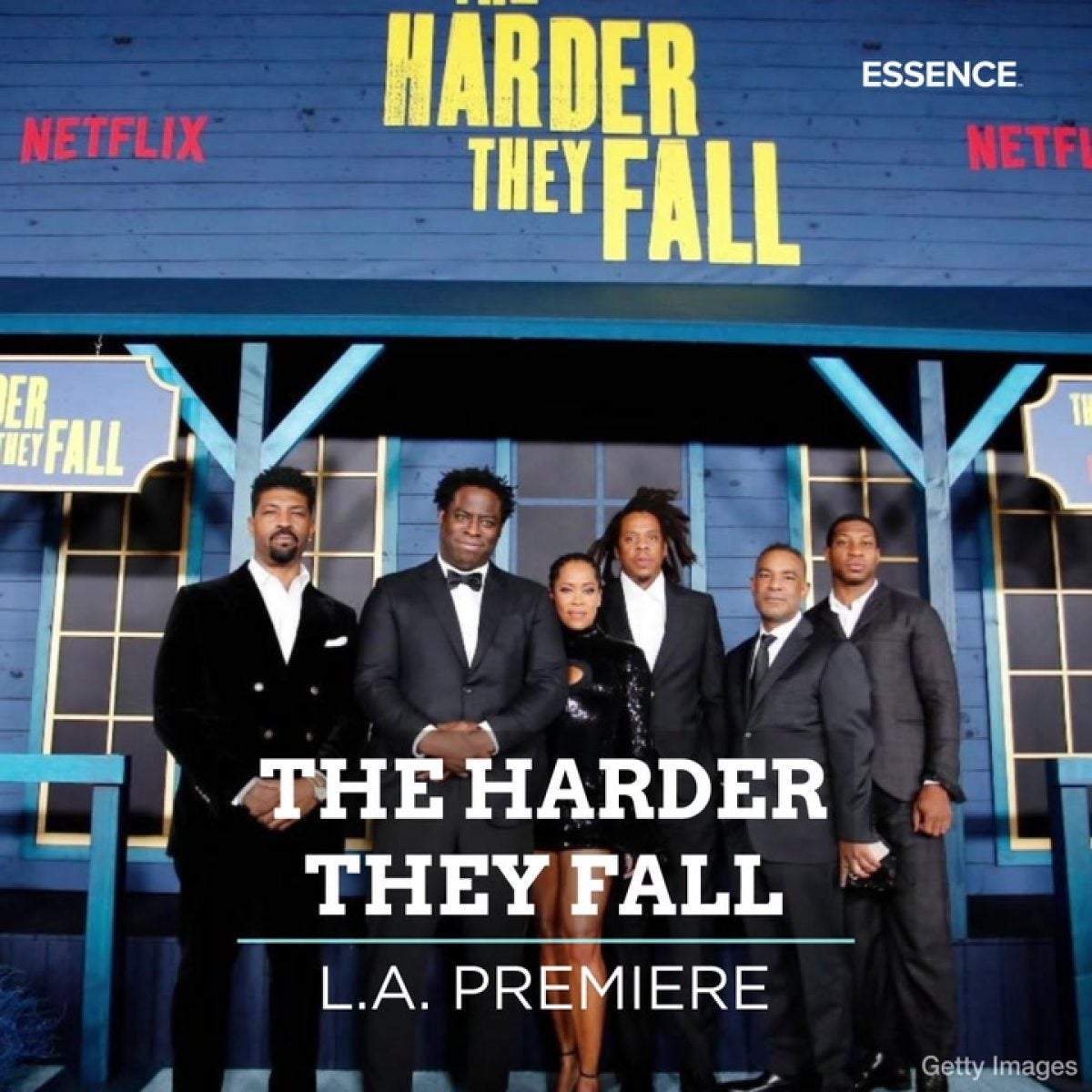 The Harder They Fall Premiere