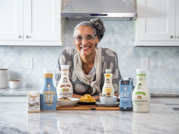 Chef Carla Hall On How To Get Into Plant-Based Meals, From Soul Food Staples To Sweets, Without Going Vegan