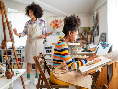 7 Contemporary Black Women Painters To Watch