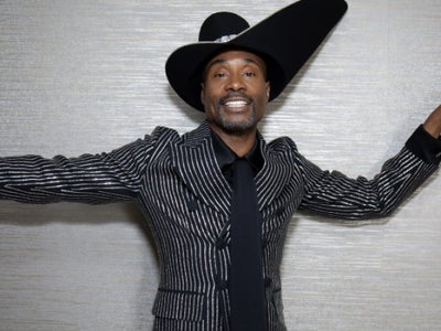 Billy Porter And Other Famous Black Men Who Have Embraced Gender-Fluid Fashions