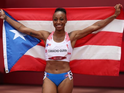 Olympic Gold Medalist Jasmine Camacho-Quinn Is Proudly 100% Hispanic And 100% Black American