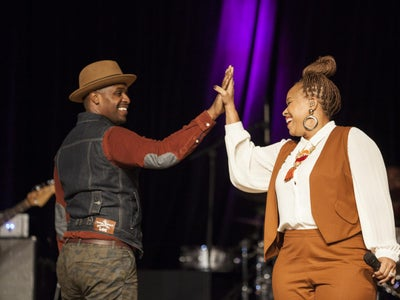 First Look: Watch Teddy Campbell Convince Tina Campbell To Say Yes All Over Again In 'Marry Me'