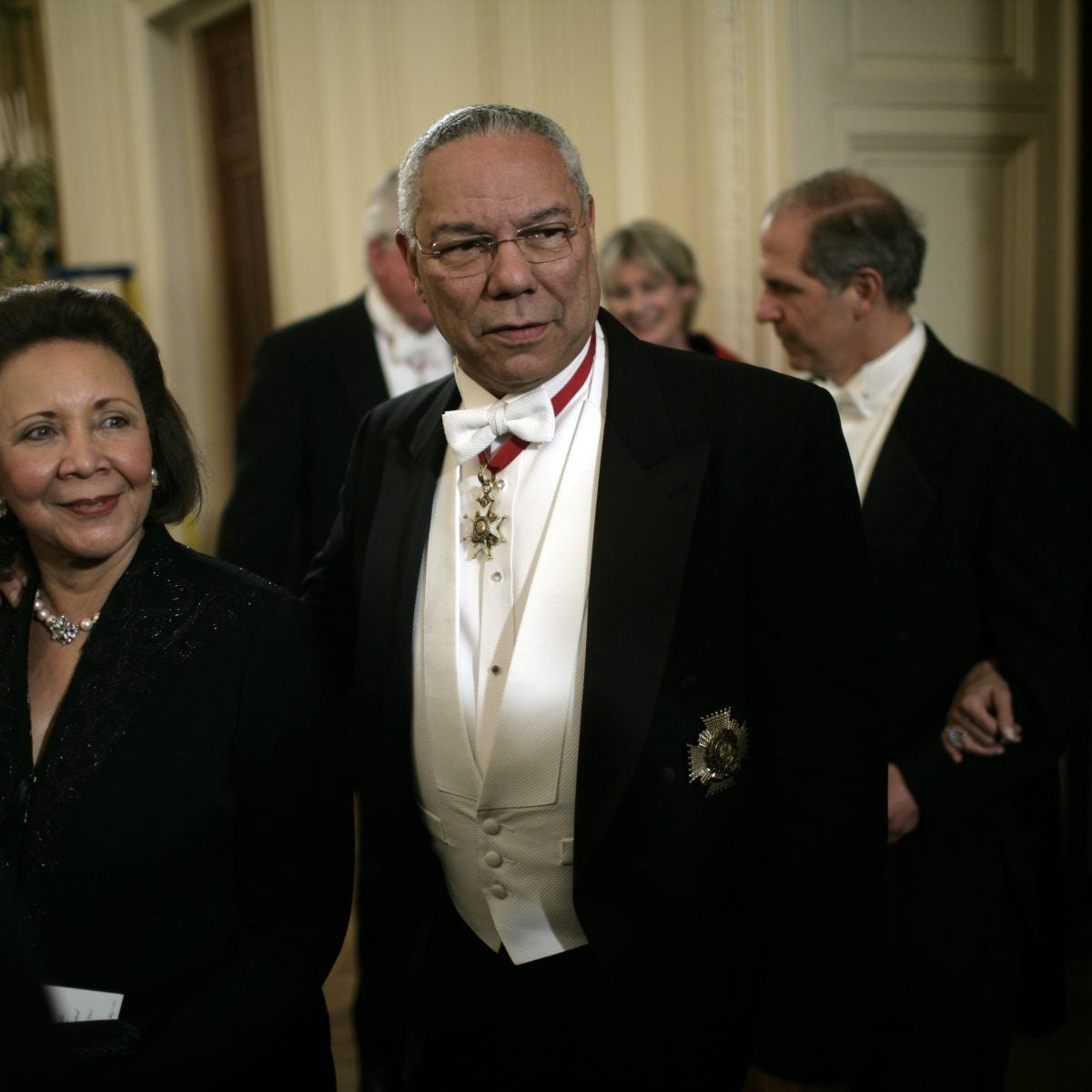 Photos Of Colin Powell And Wife Alma From Their Nearly 60 Years Of Marriage