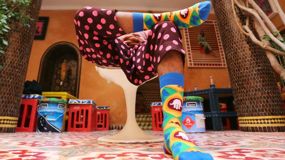 Happy Socks Teams Up With Hassan Hajjaj To Make The Coolest Designs