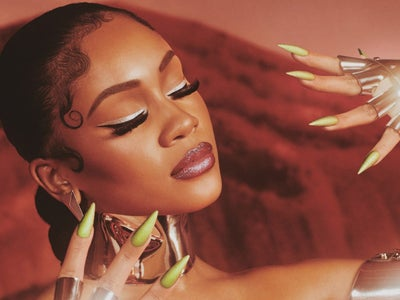 Saweetie Collaborates With SinfulColors To Create An Alien Collection For Halloween