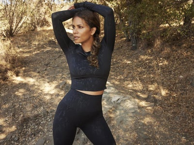 The Cozy Second Collection Of Halle Berry's Athleisure Line With Sweaty Betty Is Here And We Want Every Piece