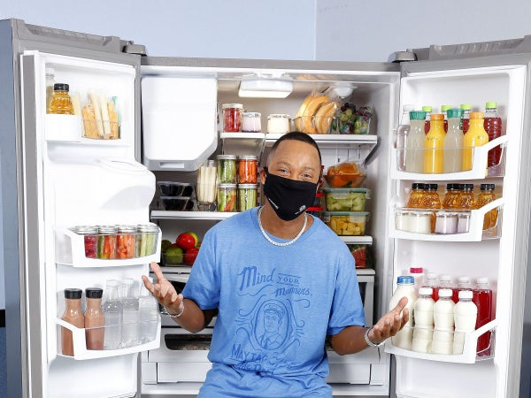 Terrence J Is Fighting Food Insecurity With Feel Good Fridges For Kids