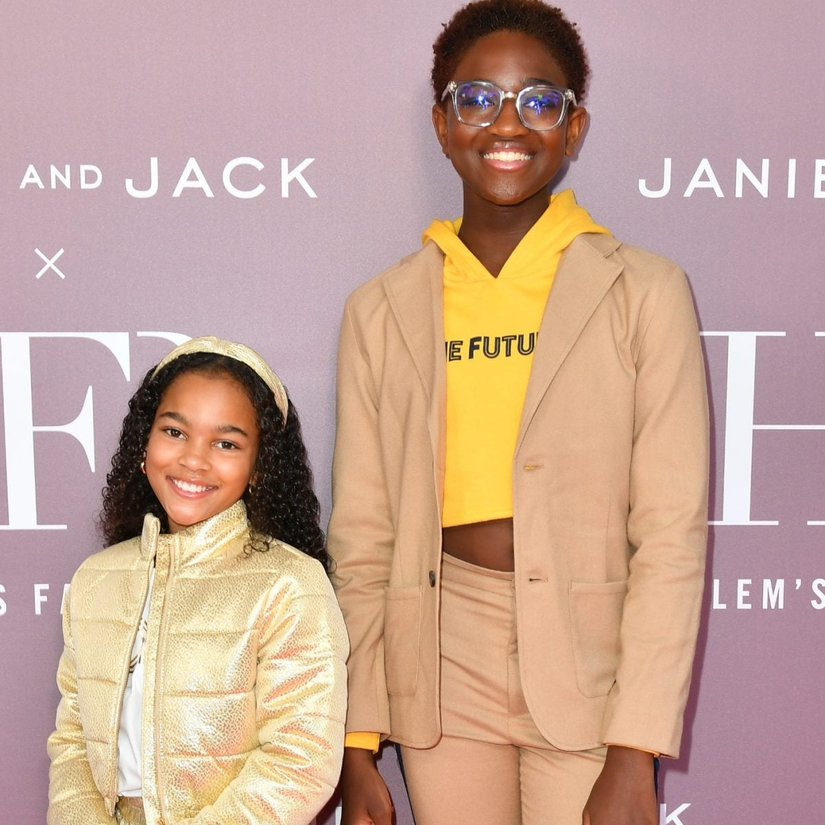 A Who's Who Of Celeb Kids Hit The Red Carpet To Launch Janie And Jack x Harlem's Fashion Row's New Collection