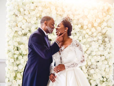 Bridal Bliss: Rheonna Was A Queen With A Crown And Scepter And Keith Was Her King For Their Fairytale Wedding
