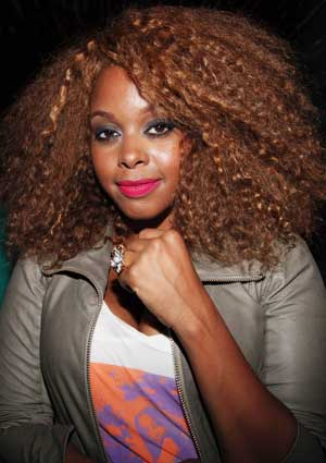Hot Hair Chrisette Michele S Curly New Do Essence